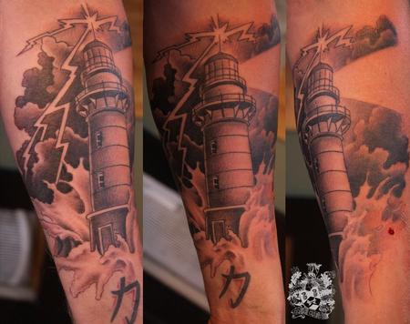 Light House Tattoo Tattoo Design