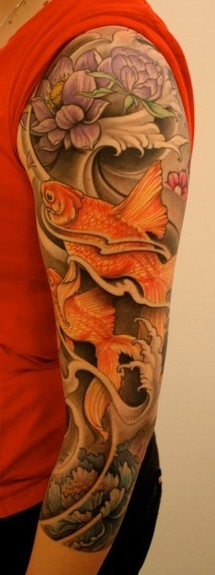 Color Sleeve Tattoo Tattoo Design