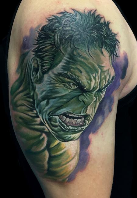Hulk  Tattoo Design