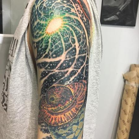 Tattoos - Universe sleeve - 132785