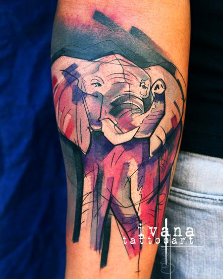 Ivana Tattoo Art - Elephant