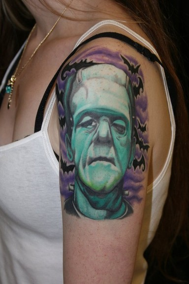 Frankenstein Tattoo Tattoo Design