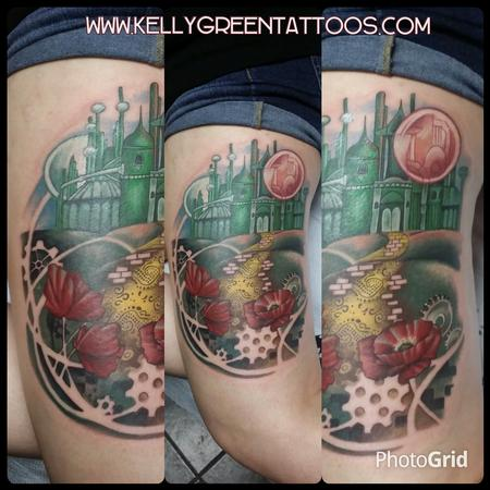 Wizard of Oz Tattoo Design