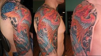 Tattoos - Phoenix Tattoo - 37585