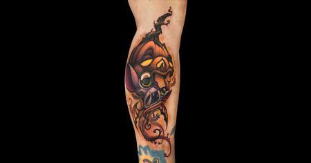Tattoos - Octolantern Butterfly Bat - 140674