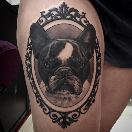 Boston Terrier Tattoo Tattoo Design