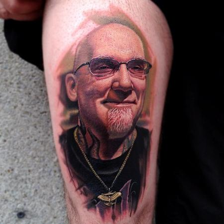 Tattoos - Bob Tyrrell Portrait - 67366