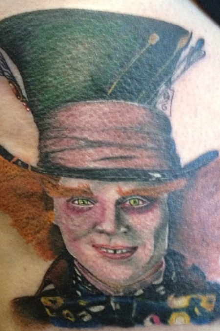 Madhatter Tattoo Design