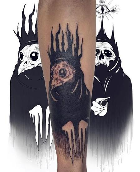 Tattoos - Ashes Bardole Plague Doctor - 137995