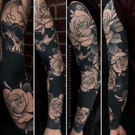 Rick Mcgrath - Austin Jones Floral blackout sleeve