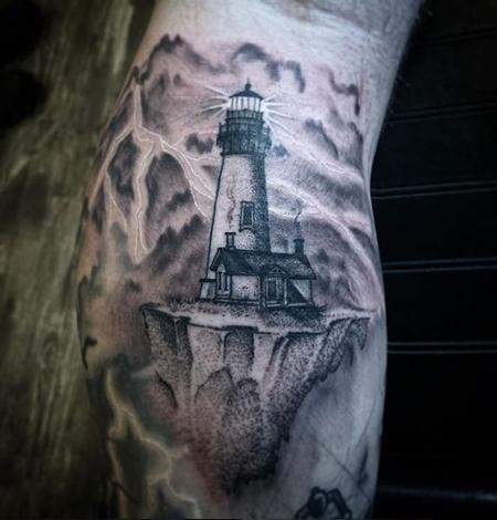 Tattoos - Billy Williams Tiny Lighthouse - 141513