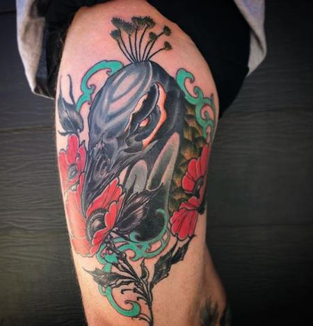 Tattoos - Billy Williams Peacock - 139148