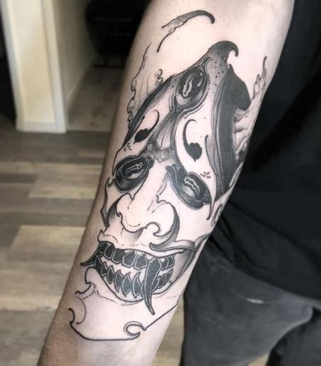 Billy Williams - Hannya Tattoo