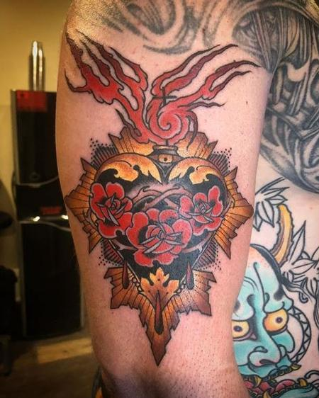 Tattoos - Billy Williams Sacred Heart - 138346