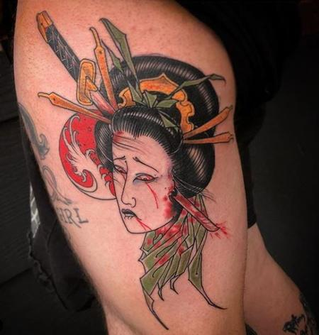 Tattoos - Billy Williams Dead Geisha - 138198