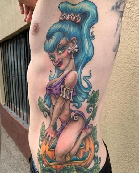 Tattoos - Bonnie Seeley Neo Pinup - 139331