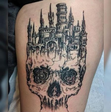 Tattoos - Skull Castle - 139296