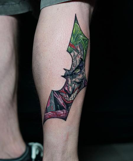 Al Perez Joker Tattoo Design
