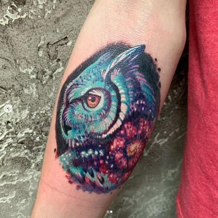 Tattoos - Jesse Carlton Owl - 139402