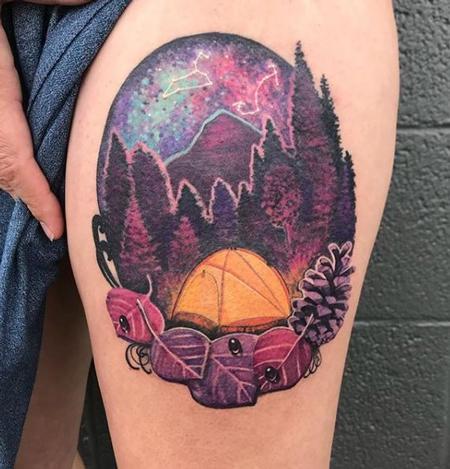 Tattoos - Jesse Carlton Camping - 138886