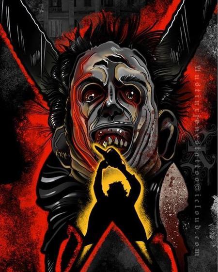 Austin Jones - Texas Chainsaw Massacre Leather-face Art
