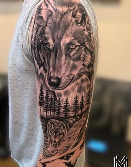Matt Morrison - Matt Morrison Wolf Sleeve