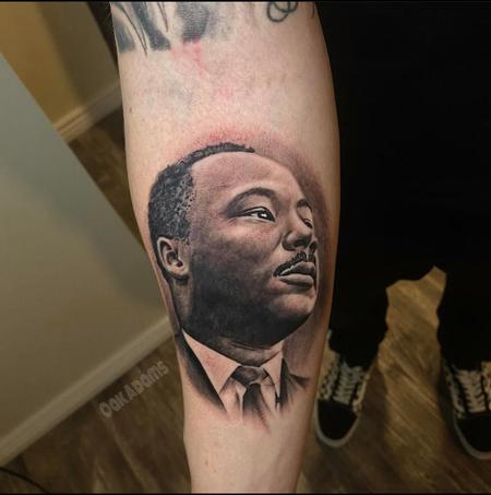 Tattoos - Oak Adams MLK Jr - 141499