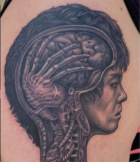 Ryan Cumberledge - Ryan Cumberledge Alien Brain