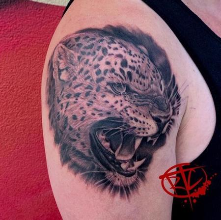 Tattoos - Ryan Cumberledge Jaguar  - 139536