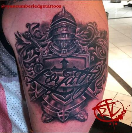 Tattoos - Ryan Cumberledge Knight - Loyalty - 139941
