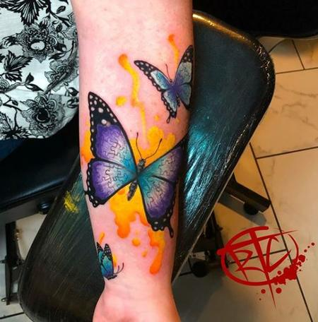 Tattoos - Ryan Cumberledge Puzzle Butterflies - 139753
