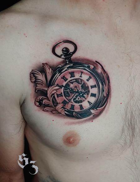 Tattoos - Quade Dahlstrom Pocket Watch - 142186