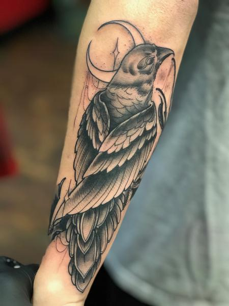 Tattoos - Bird Tattoo - 134859