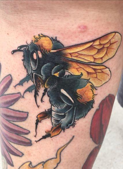 Tattoos - Tori Loke Bumble bee - 138853