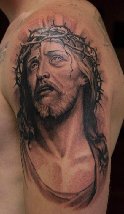 Painted Temple : Religious Jesus : Tattoos : Page 1