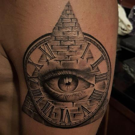 Zane Collins - Illuminati Tattoo