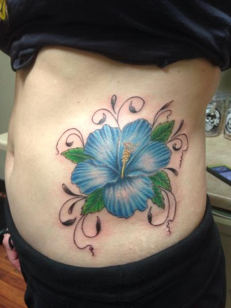 Tattoos - Blue Lilly  - 91276