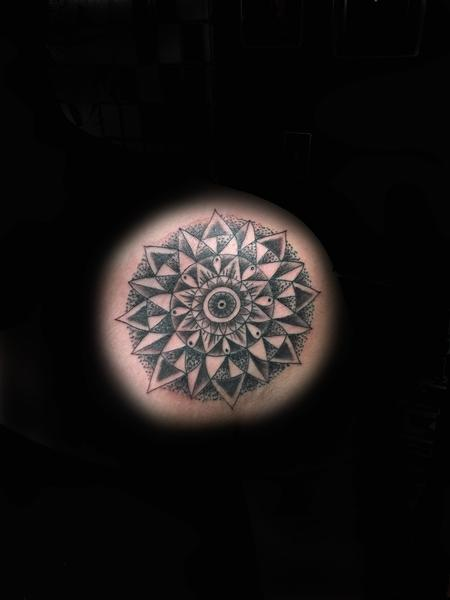 Tattoos - Mandala Chest  - 104762