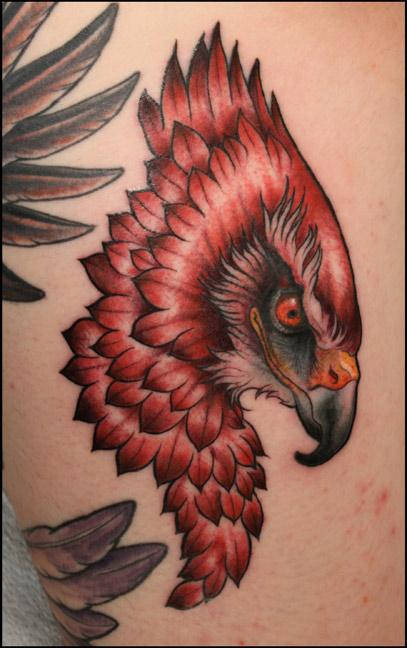 Tattoos - hawk - 68666