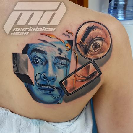 SALVADOR DALI Tattoo Design