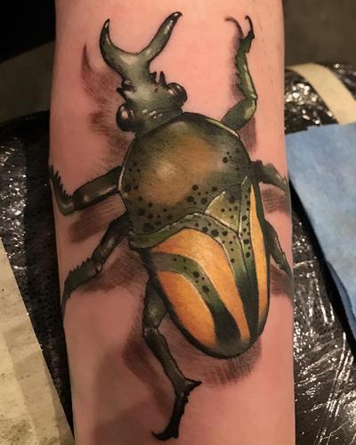 Tattoos - Beetle Tattoo - 140639