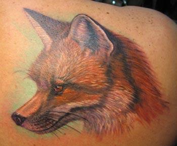 Fox Tattoo Tattoo Design