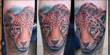 Big Cat Tattoo Design