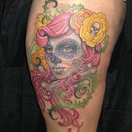 Tattoos - Dia de los Muertos - 100681