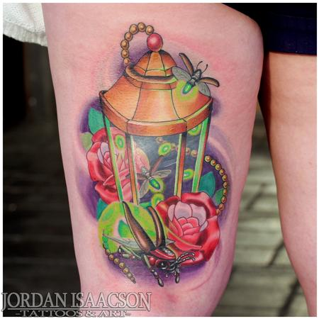 Lantern  Tattoo Design