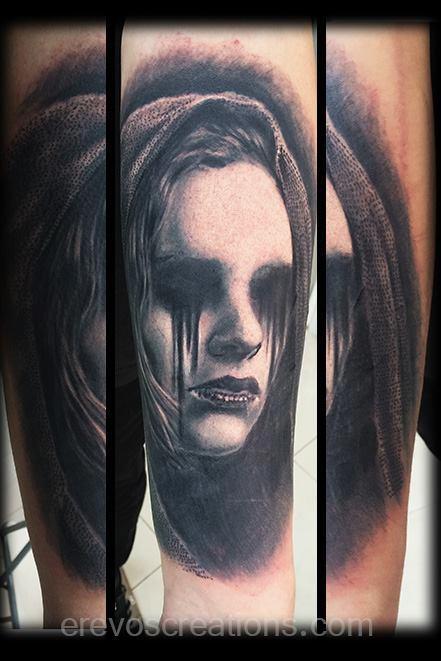 Portrait!! Tattoo Design