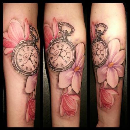 Timepiece Tattoo Tattoo Design