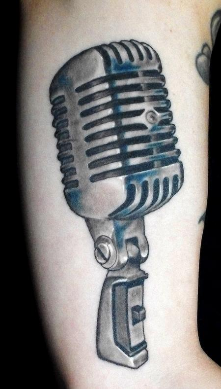 Open Mic Night Tattoo Design