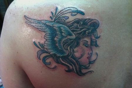 Angel Tattoo Tattoo Design