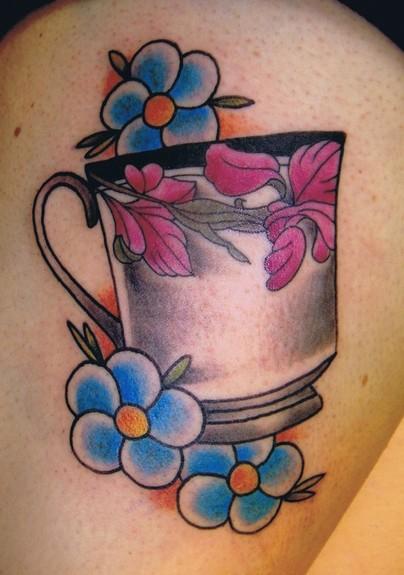 Teacup Tattoo Tattoo Design